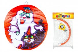 lampion Halloween koule, 25 cm