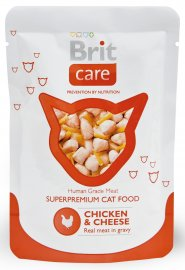 Brit Care Cat Chicken & Cheese Pouch 80g