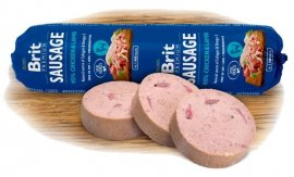 NEW Brit sausage chicken & lamb 800g